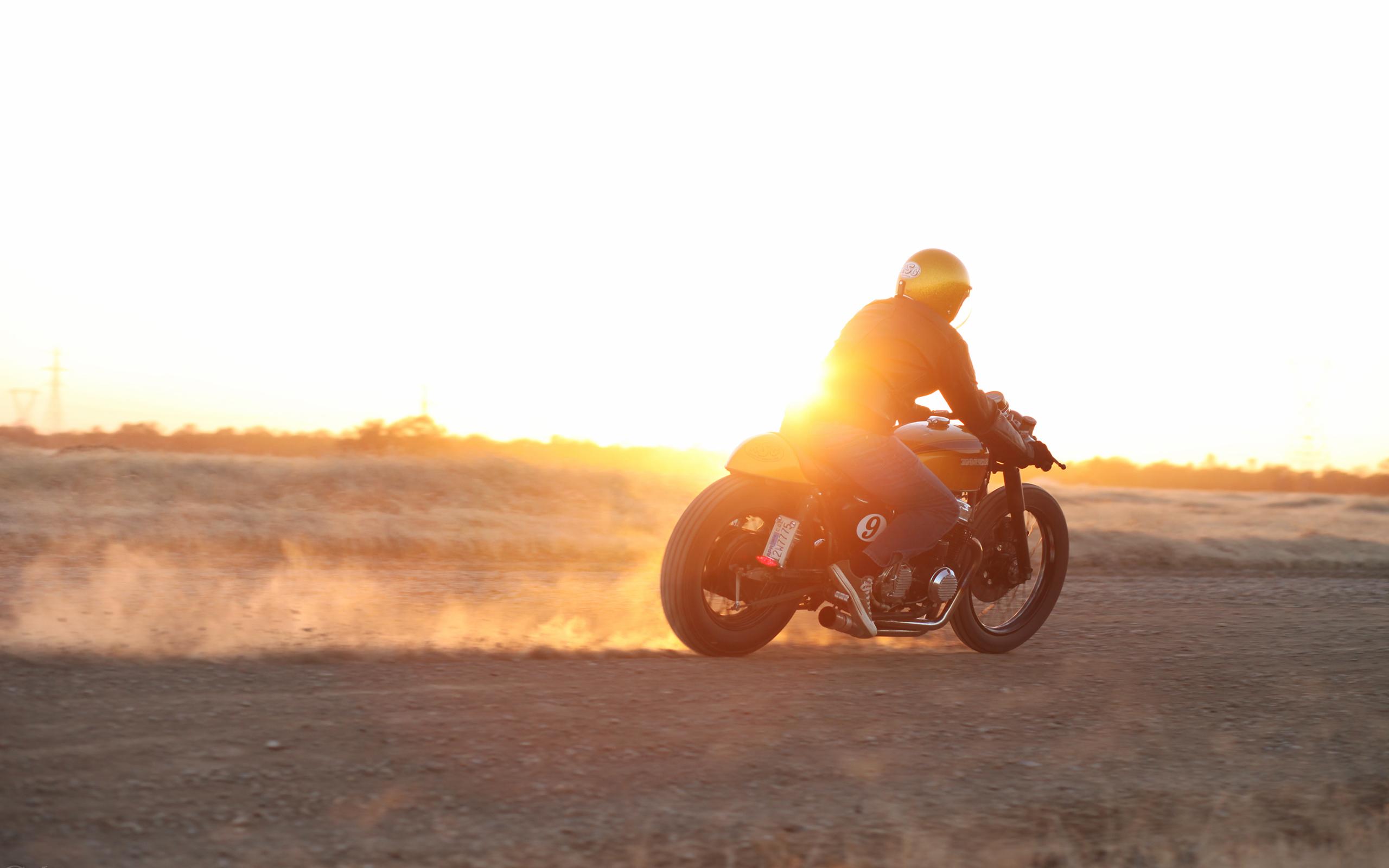 Motorcycle Sunset bike race racing wallpaper 2560x1600 179363 2560x1600