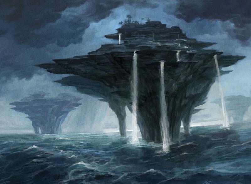 MtG Island by PeteMohrbacher 800x585