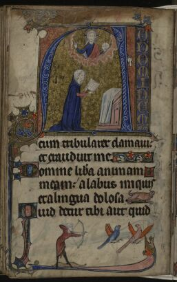 The Gradual Psalms   historiated initial   f149v   The 257x410
