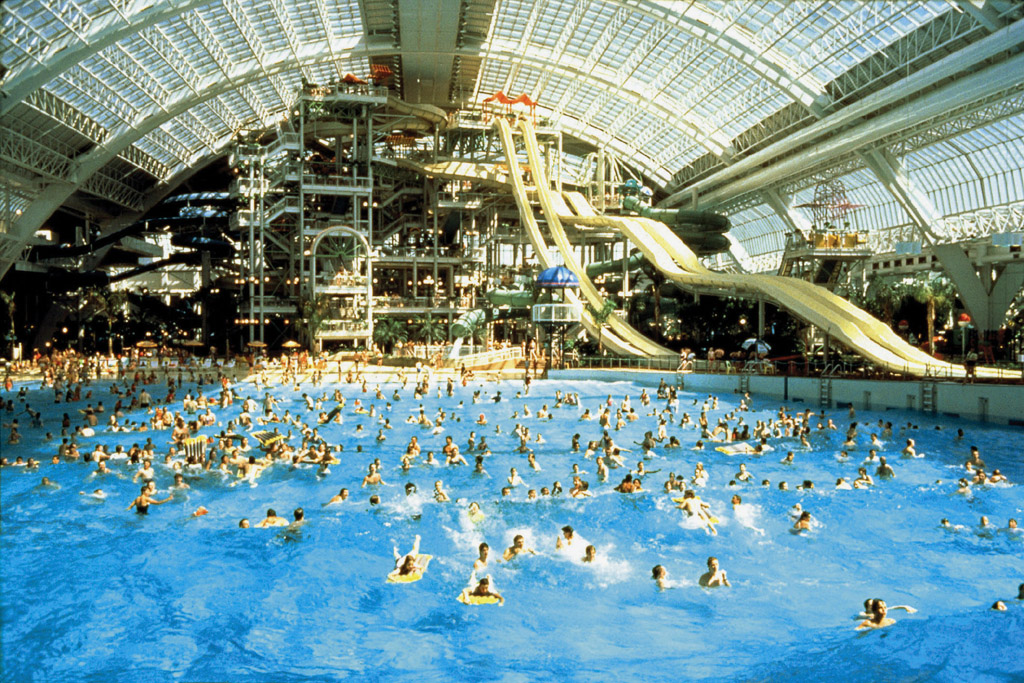 Jasper National Park Photo West Edmonton Mall Water Park   DH Walls 1024x683