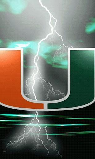 University Of Miami Logo Wallpaper Show your university of miami 307x512
