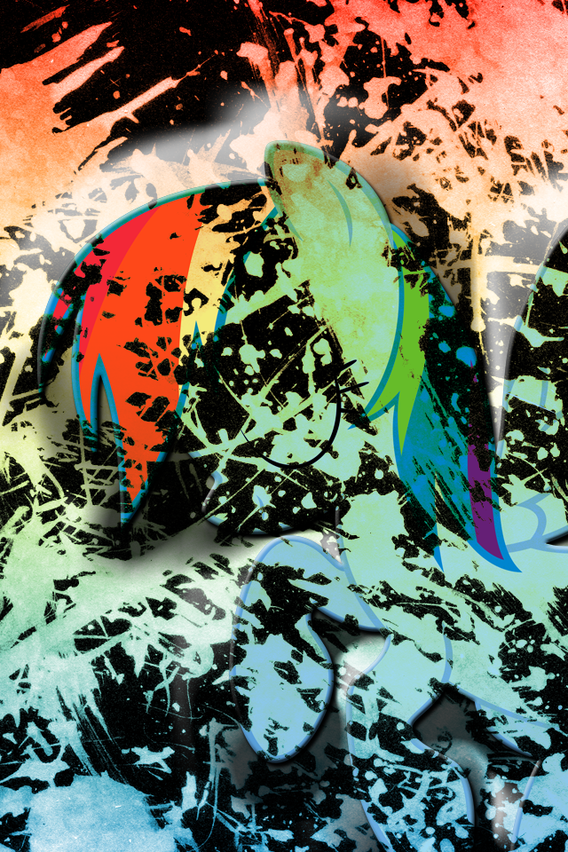 Spitfire Wheels Iphone Wallpaper Deviantart more like pinkie pie glow 640x960