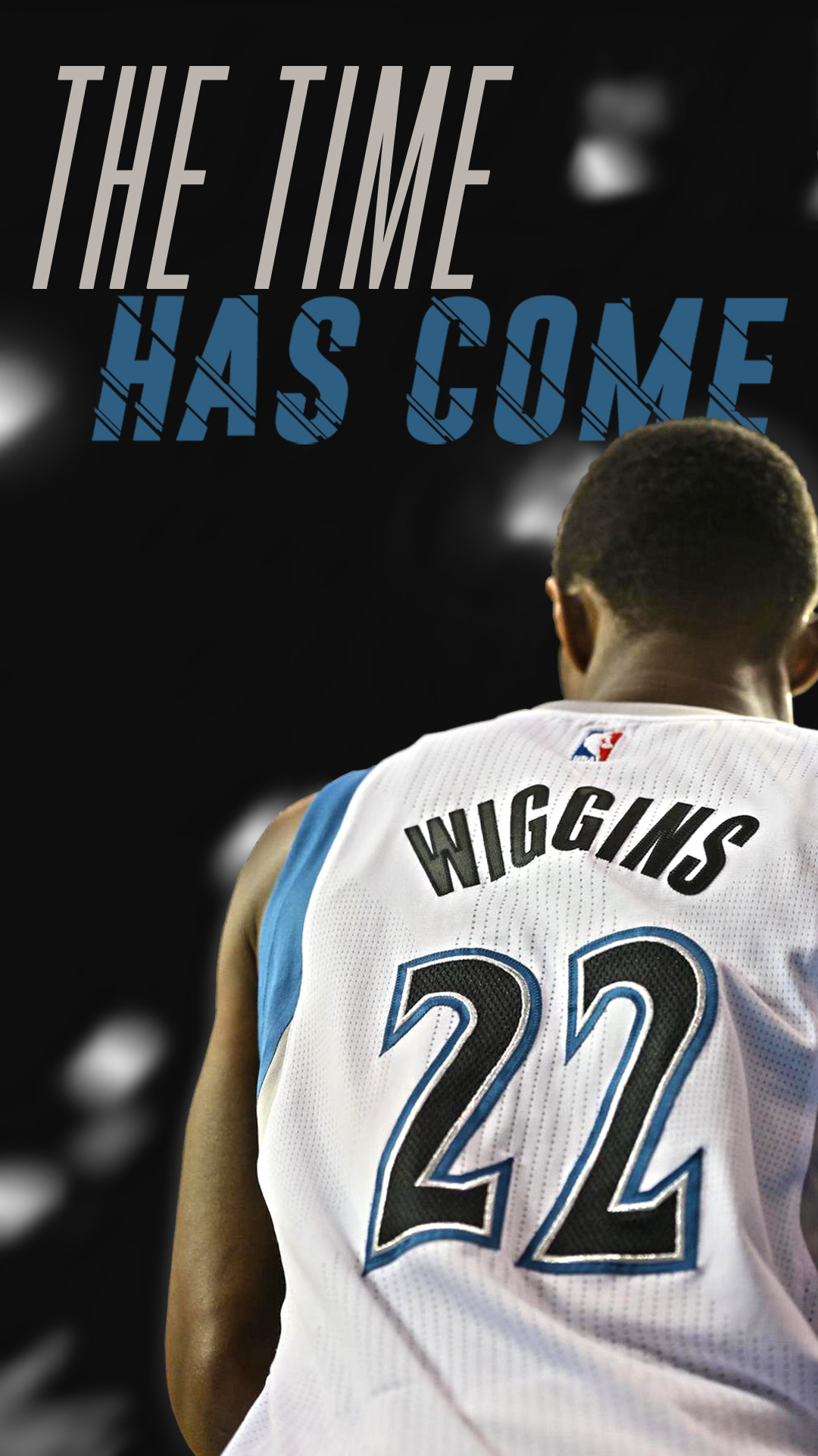 I made an Andrew Wiggins phone wallpaper Let me know what you 1080x1920