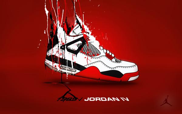 Air Jordans Wallpapers Work In Progress on Student Show 600x375