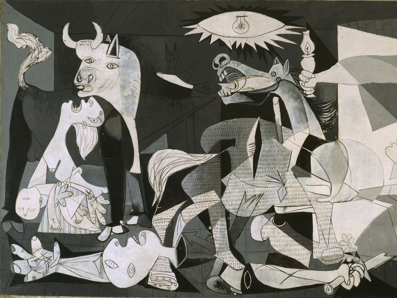 Wallpapers Download 1280x960 pablo picasso guernica Wallpaper 1280x960