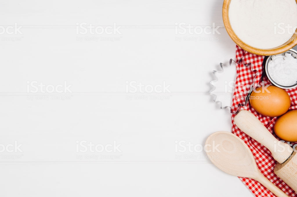 Baking Cake Or Pizza Ingredients Top View On Wooden Background 1024x678