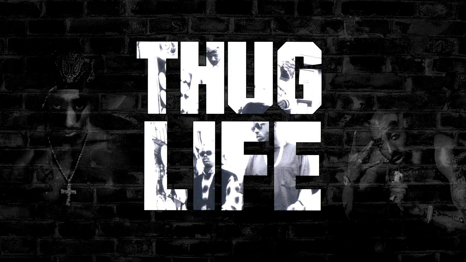 Tupac Thug Life Rap Wallpapers 1920x1080