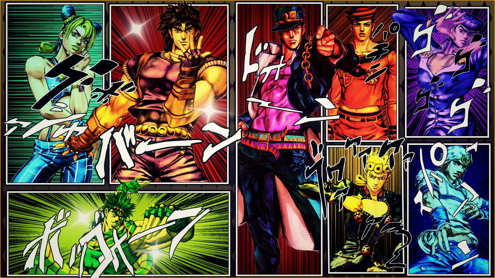 1035 Jojos Bizarre Adventure HD Wallpapers Background Images 1920x1080