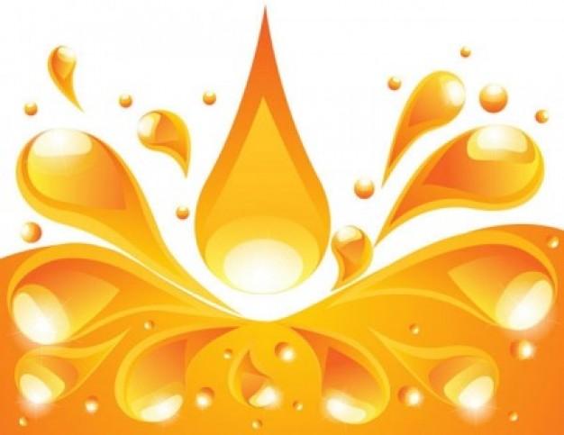 Orange juice background Vector Download 626x483