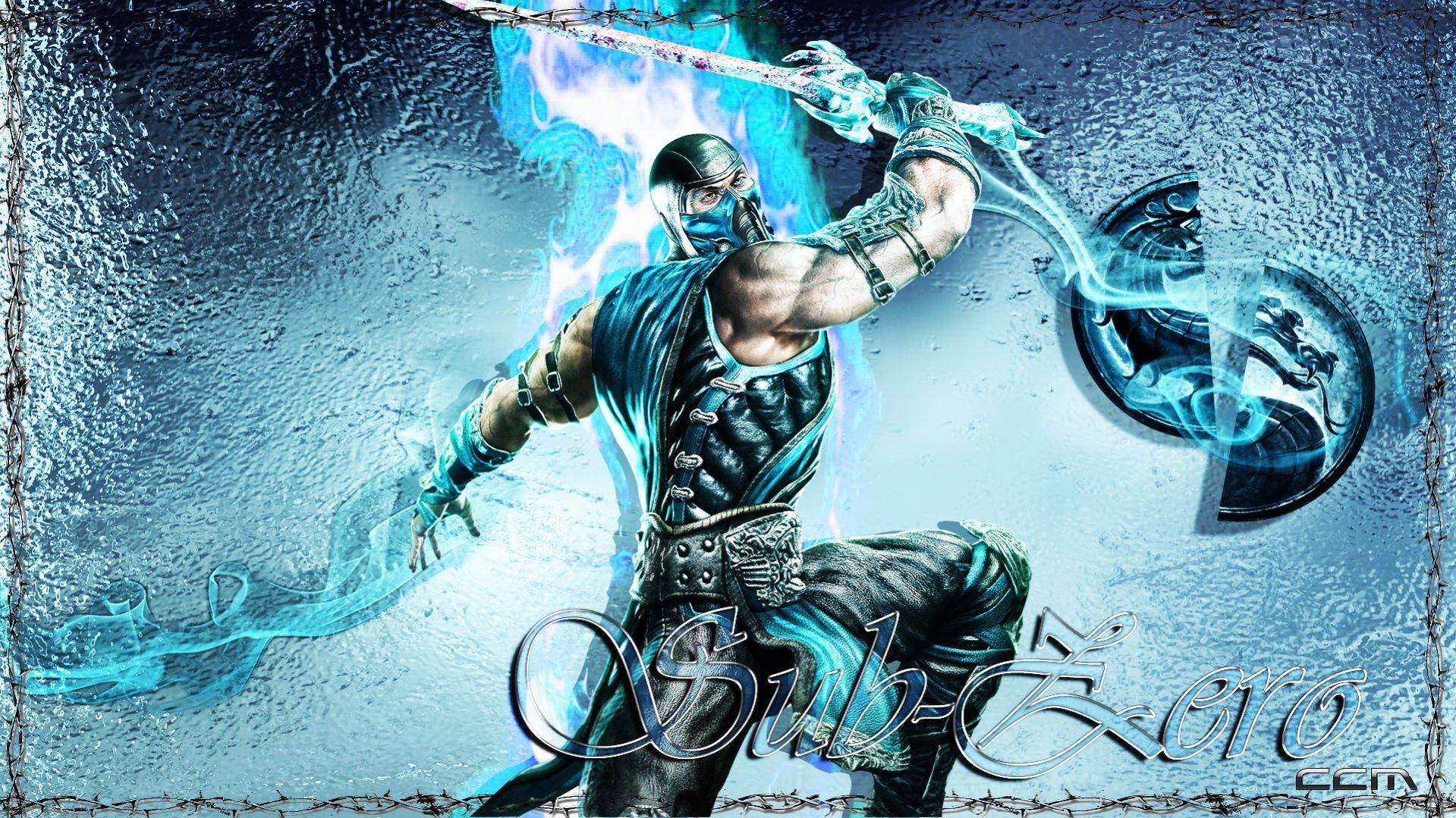 Free Download 101549d1300481469 Mortal Kombat 9 Sub Zero Wallpaper