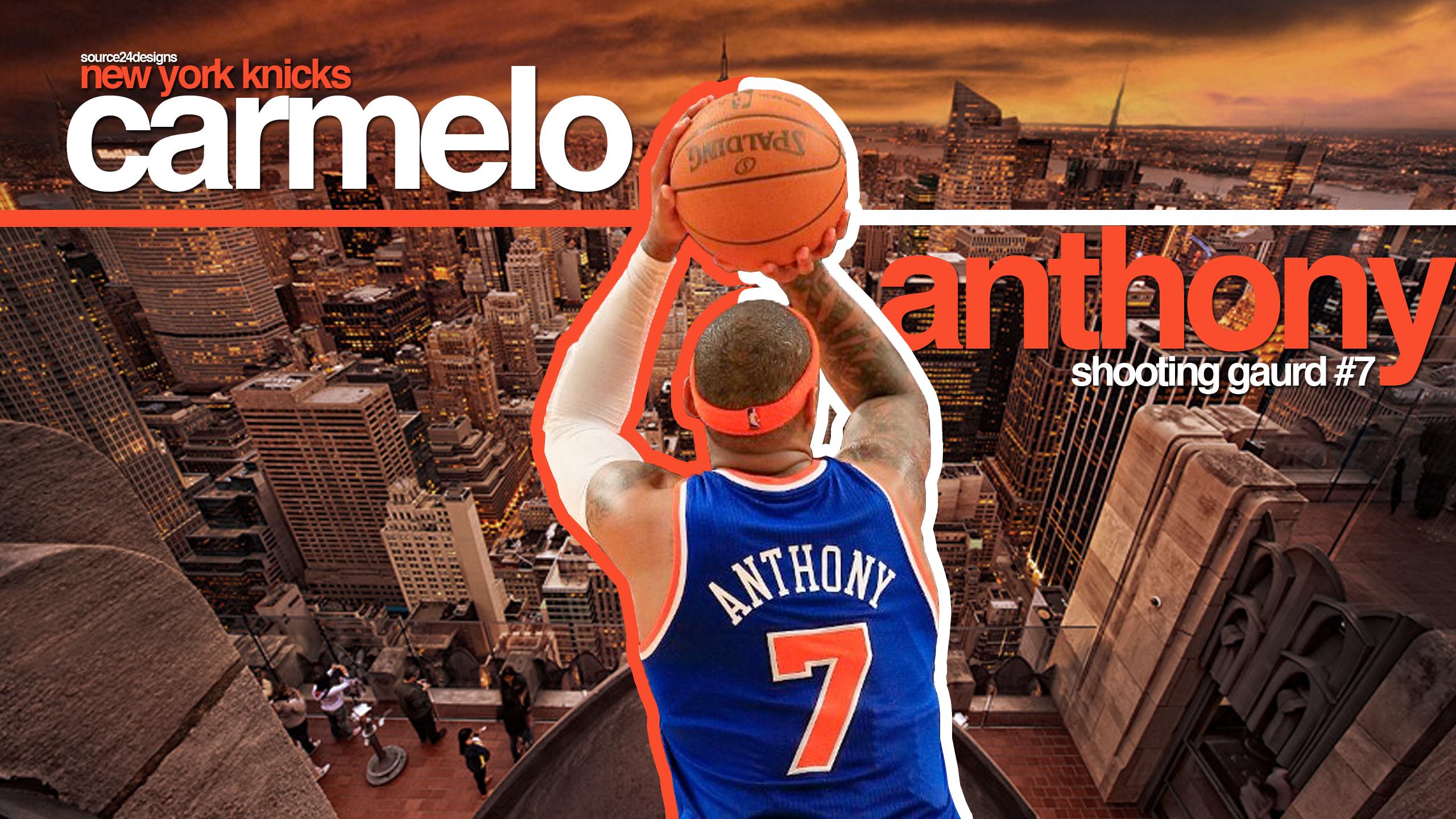 Knicks hd wallpaper wallpapersafari download carmelo anthony knicks hd wallpaper 2700 full size voltagebd Images