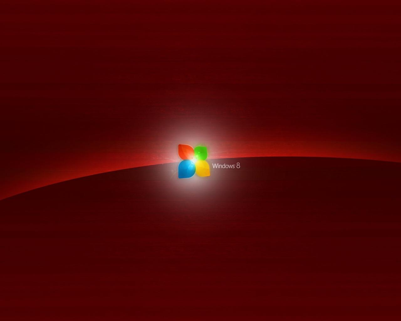 1280x1024 Dark Red Windows 8 desktop PC and Mac wallpaper 1280x1024