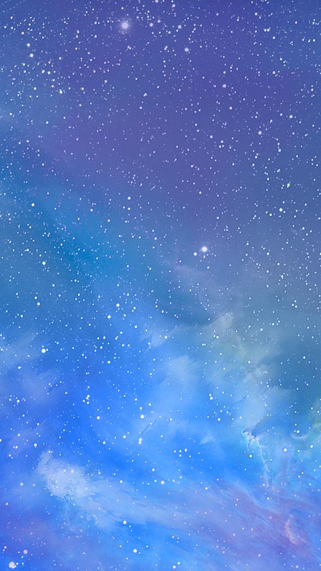 ios7 galaxy iphone wallpaper tags apple galaxy ios7 iphone 5 stars 640x1136