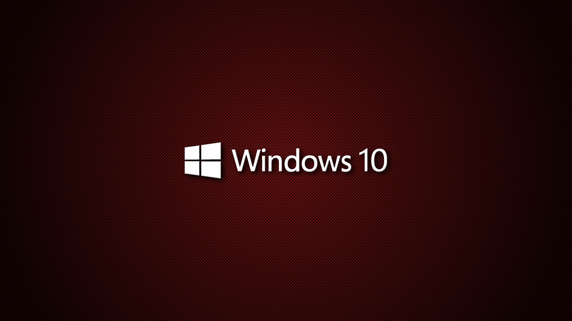 Windows 10 Wallpaper Red carbon   HD Wallpapers Desktop Wallpaper 1920x1080