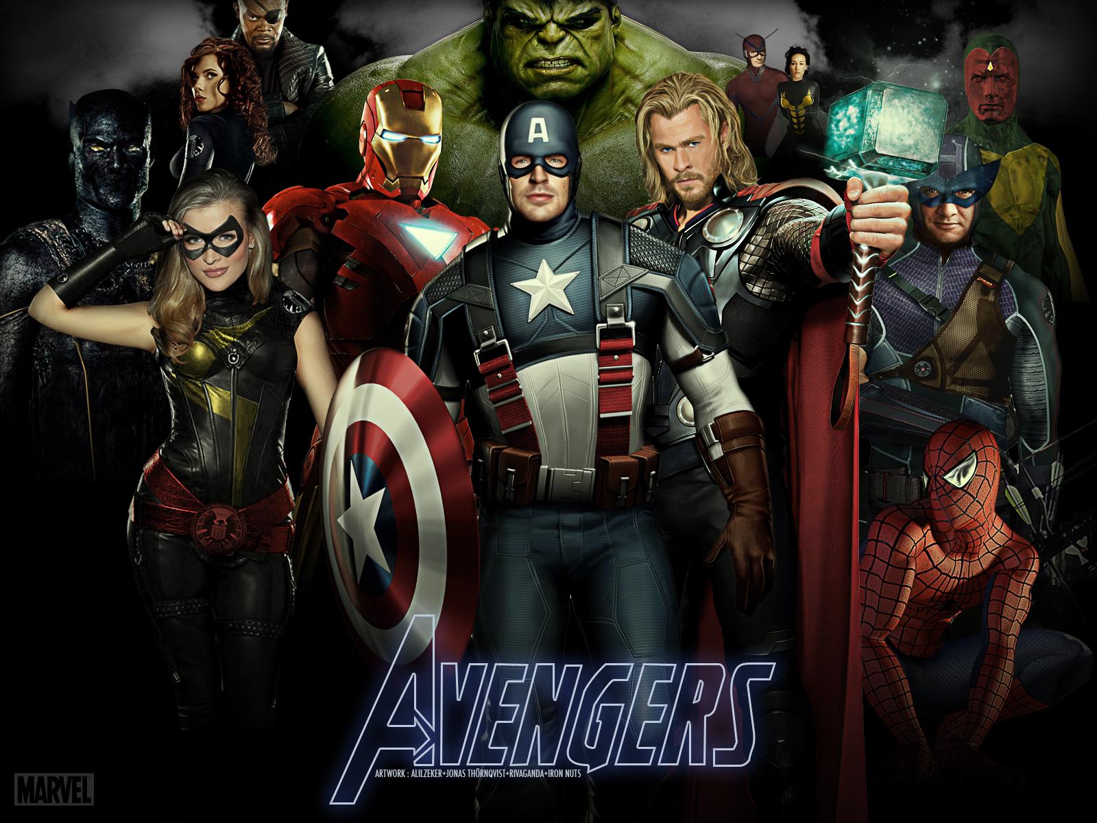 marvel avengers wallpaper - wallpapersafari