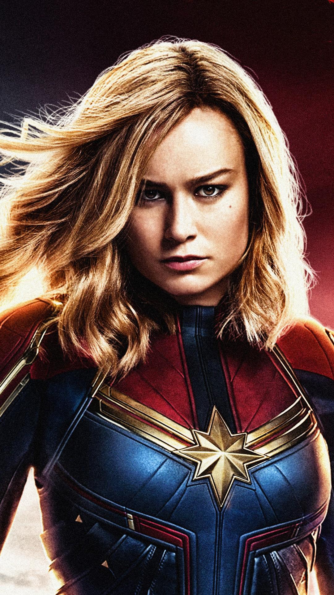 Mobile Wallpaper Captain Marvel 2020 Movie Poster Wallpaper HD 1080x1920