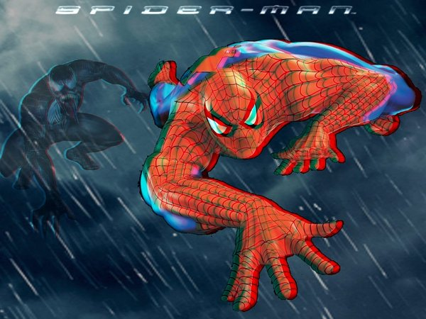 Free Download Black Spiderman Wallpapers 3d Spiderman In 3d
