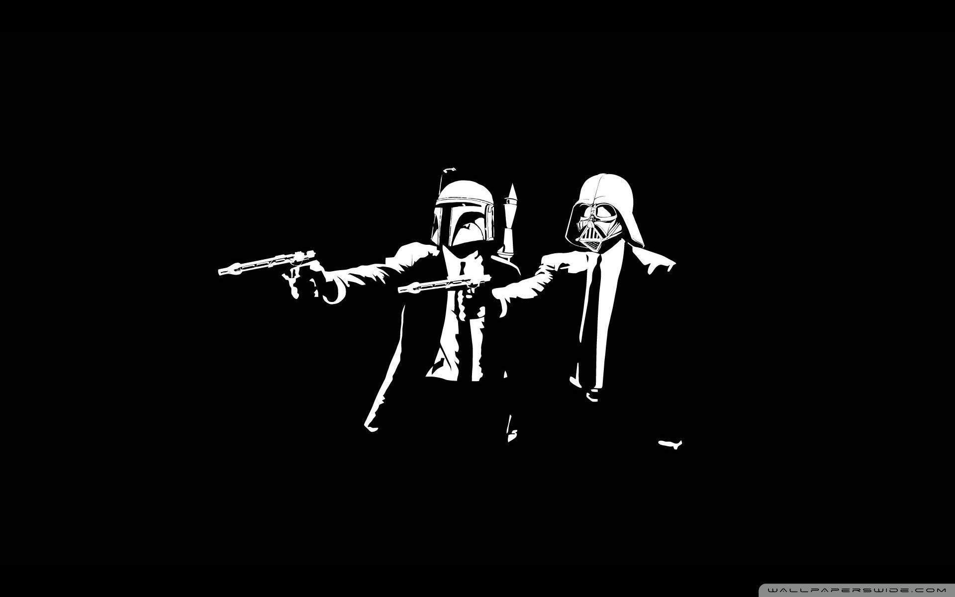 Free Download Star Wars Pulp Fiction 4k Hd Desktop Wallpaper