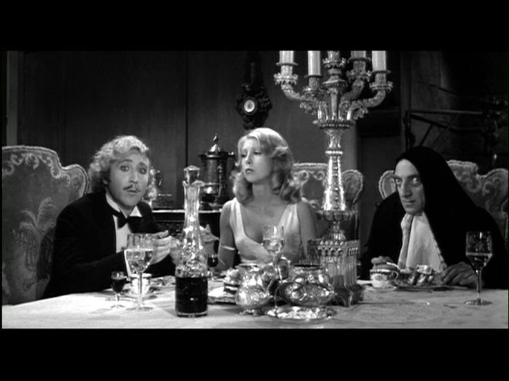 Young Frankenstein Film and Masterpiece Classics Pinterest 736x552
