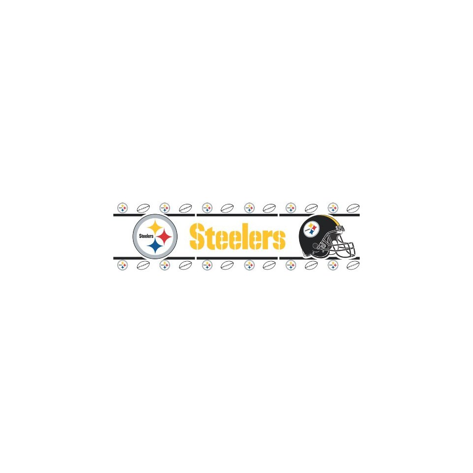 5d591c79c cor Pittsburgh Steelers NFL Wallpaper Border Home Kitchen 960x960
