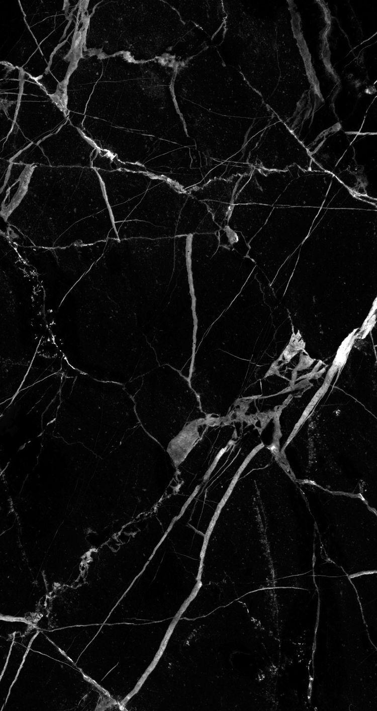 Black marble Wallpaper Pinterest Marbles Wallpaper 750x1415