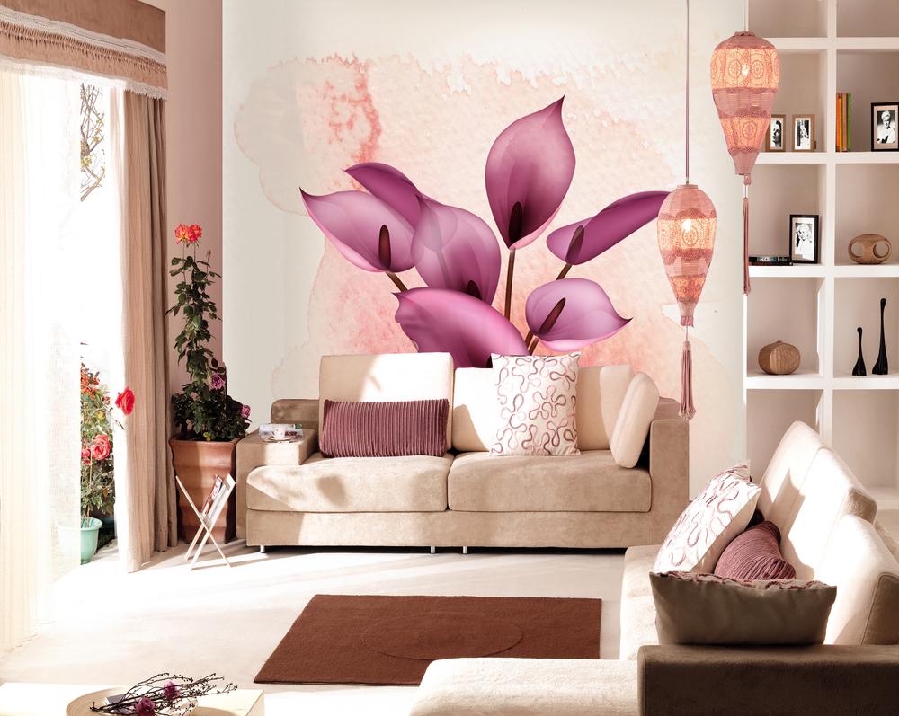 modern minimalist woven wallpaper floral background wallpaper mural 1000x797