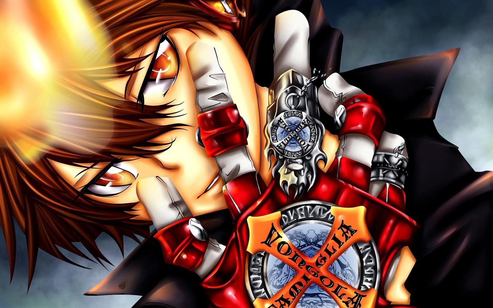 Katekyo Hitman Reborn Vongola Tsuna X Glove Flame Anime HD Wallpaper 1600x1000