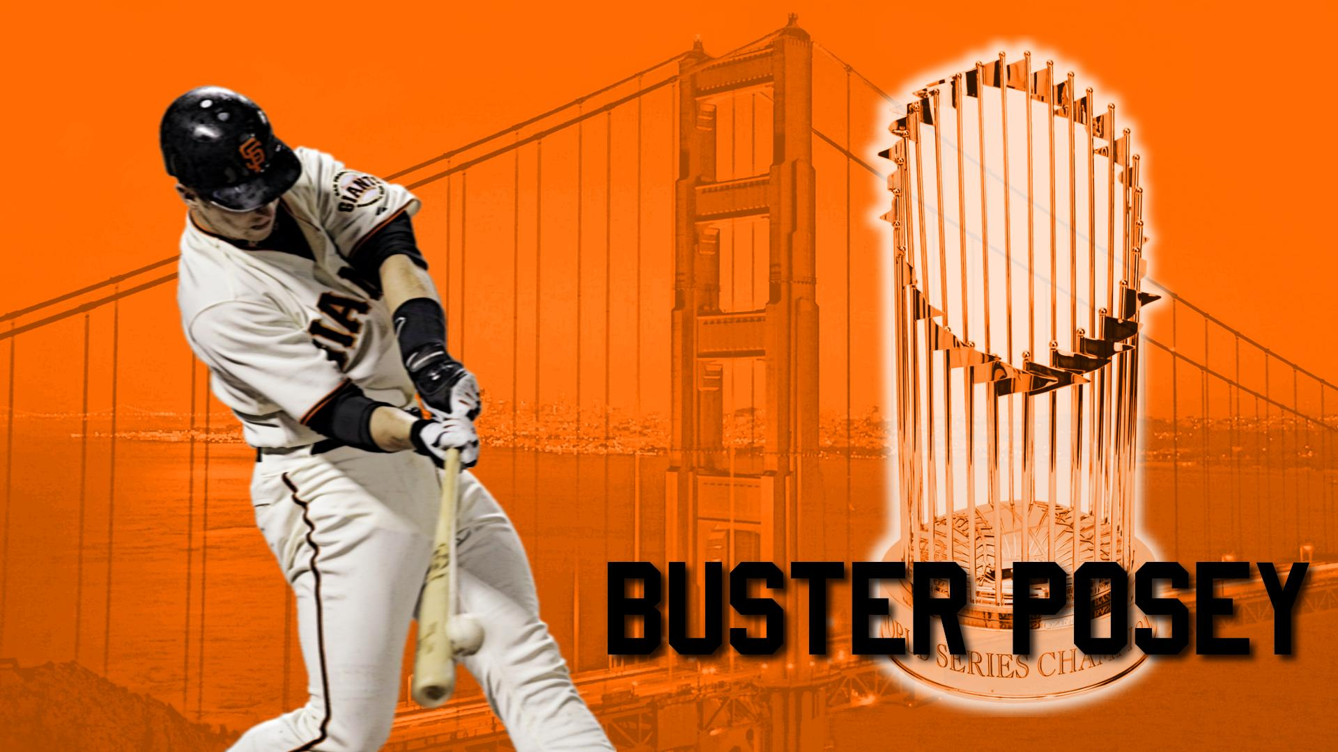 Buster Posey San Francisco Giants Wallpaper Download Logo And 1920x1080