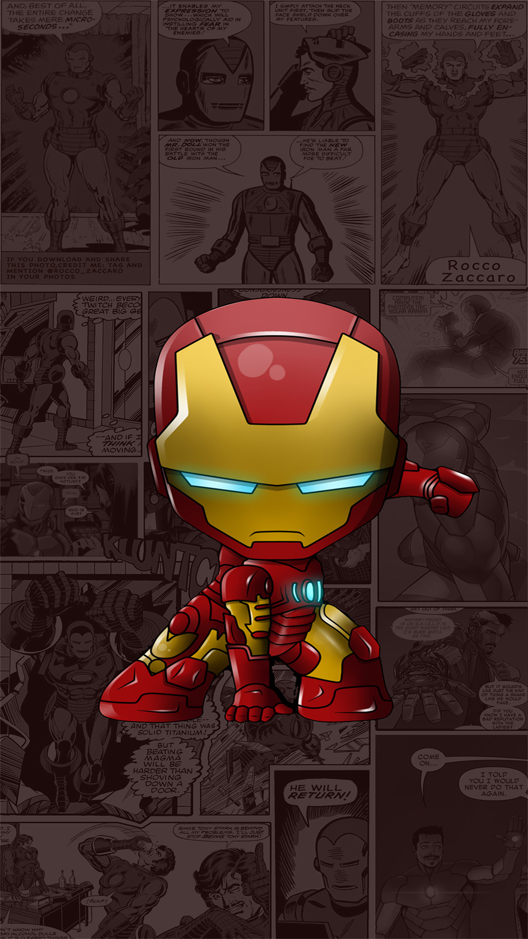 Free Download Iron Man Wallpapers Central 1080x1920 For