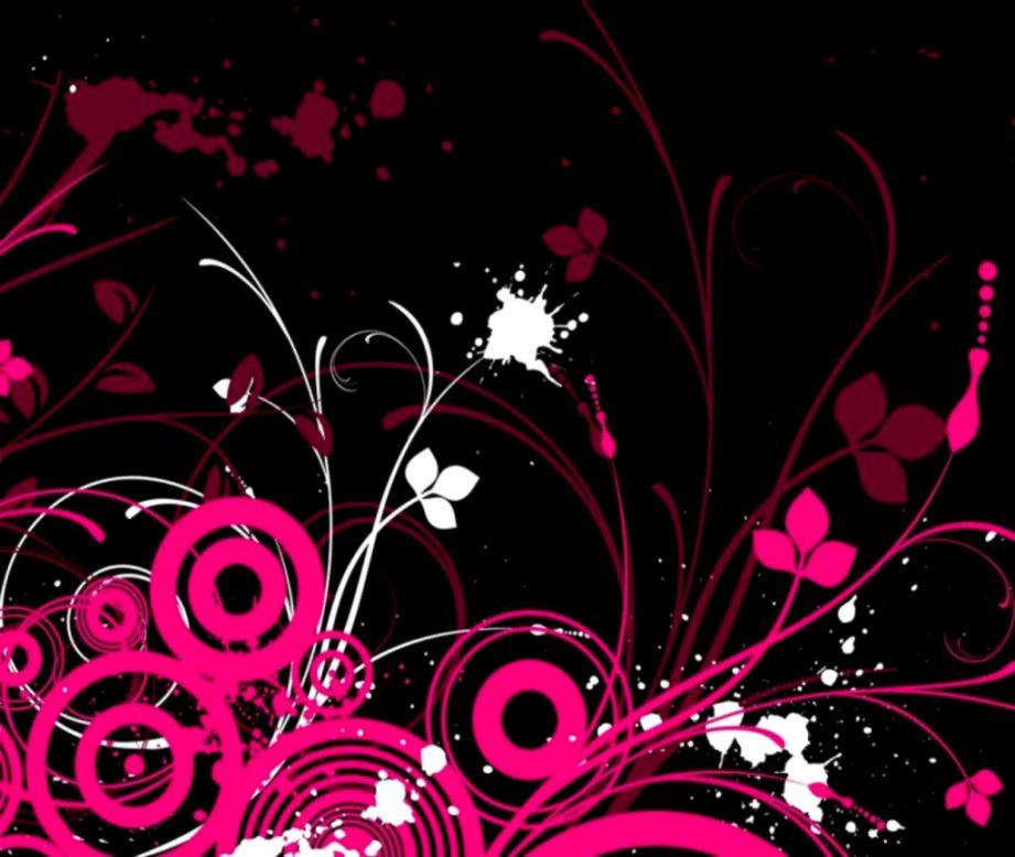 Pink And Black Wallpaper Mac Wallpapers 921x778