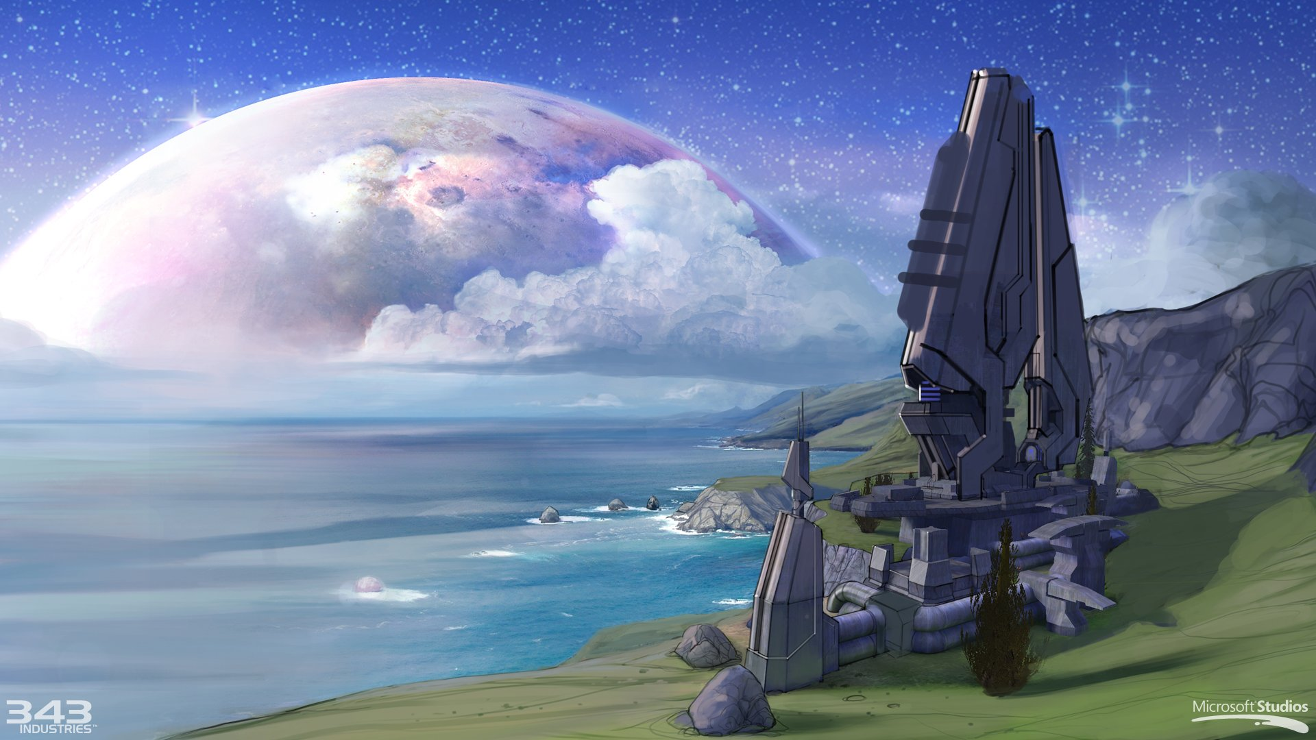 halo Combat Evolved Shooter Fps Action Sci fi Futuristic 1920x1080