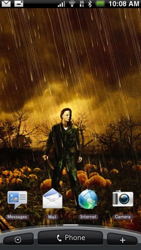 View bigger Michael Myers Live Wallpaper for Android screenshot 288x512