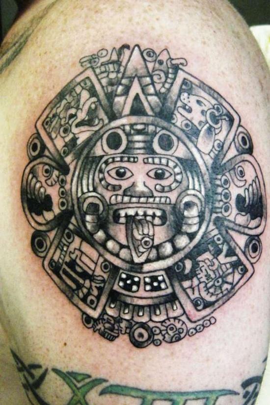 Download Aztec art tattoos pictures aztec warrior tattoo designs ...