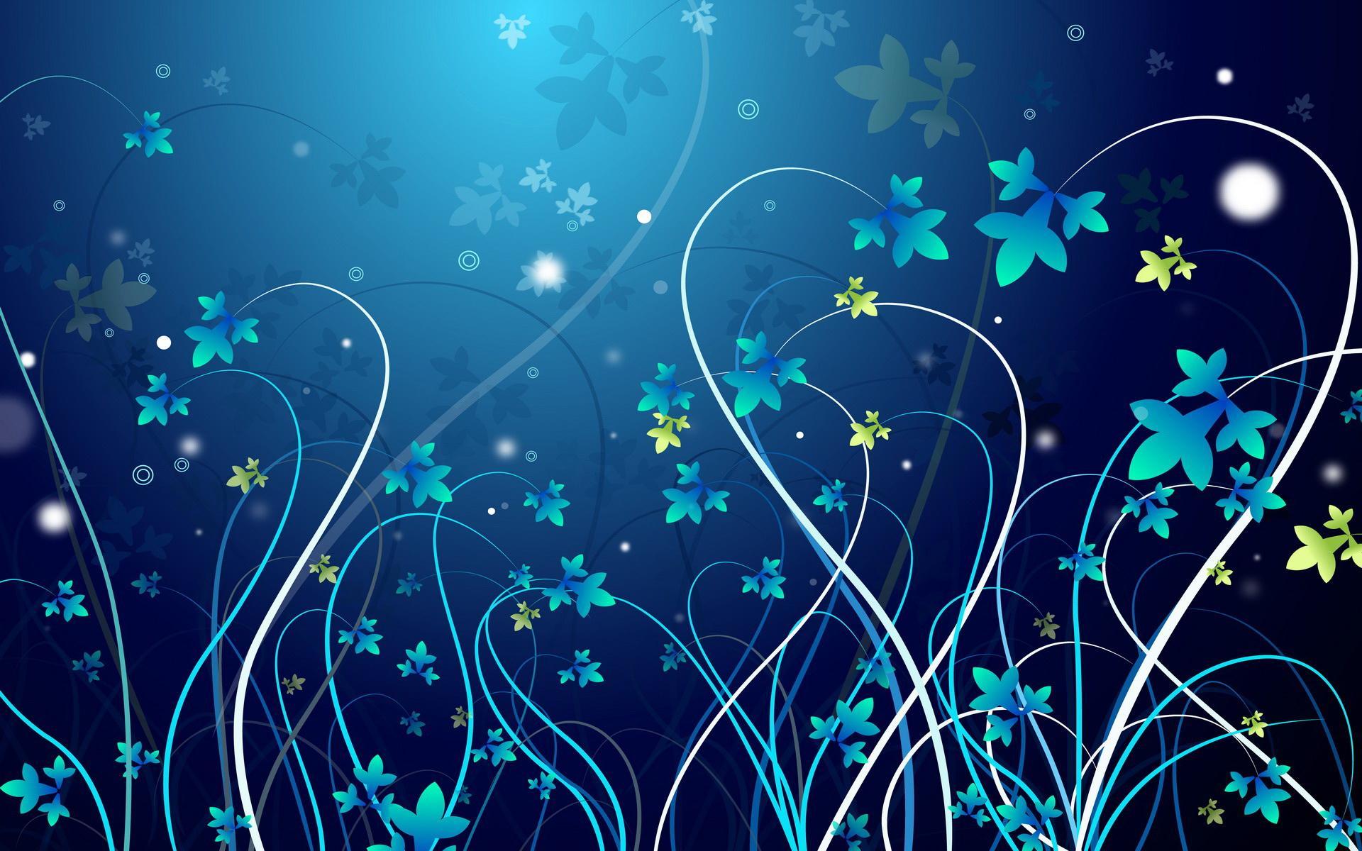 71 Blue Flower Backgrounds On Wallpapersafari