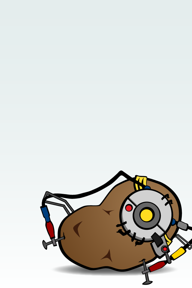 12 Portal 2 iPhone Wallpapers | Maca is Rambling