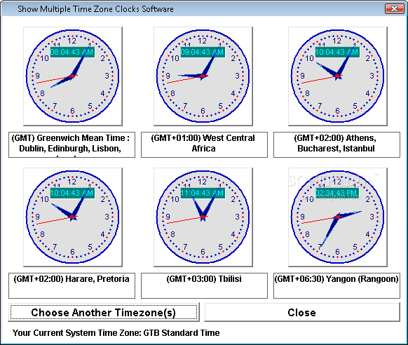 Time zone clock wallpaper wallpapersafari show multiple time zone clocks software screenshot 2 this is the way 582x492 publicscrutiny Image collections