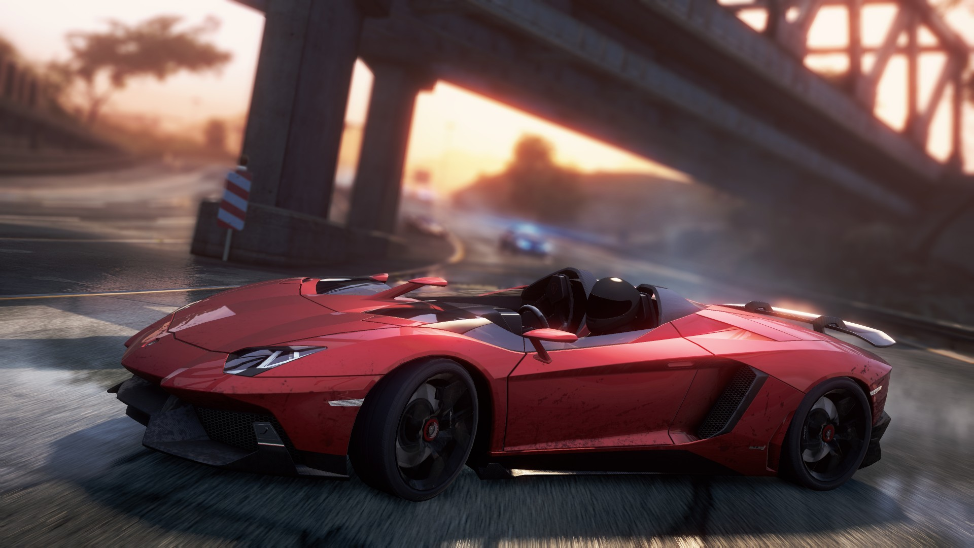 Lamborghini Aventador J Need for Speed Most Wanted 1080p Wallpaper 1920x1080