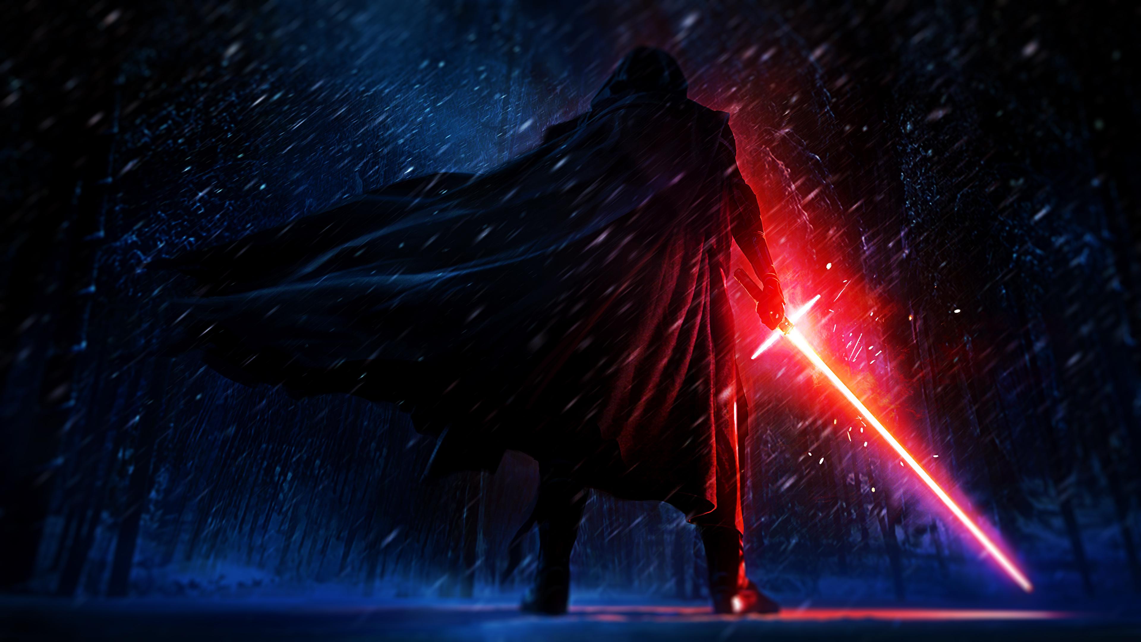 4k Kylo Ren   Star Wars   Artwork [Wallpaper] by NicolasLFBV on 3840x2160