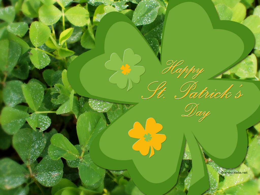 St Patricks Day Wallpapers by Katenet 1024x768