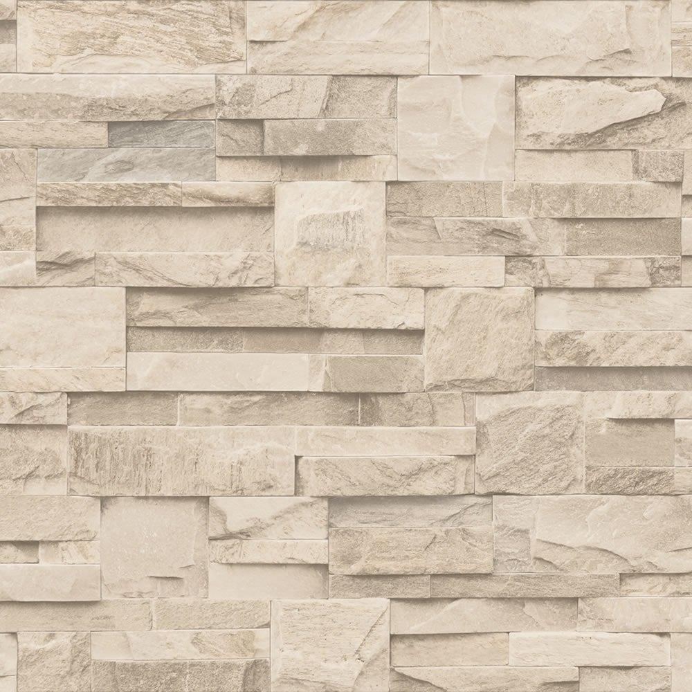 Home Wallpaper Muriva Muriva Bluff Slate Stone Brick 1000x1000