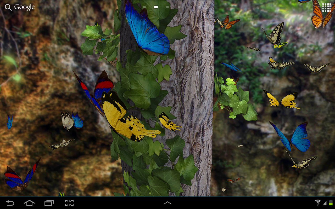 Butterflies 3D live wallpaper   Android Apps on Google Play 1280x800
