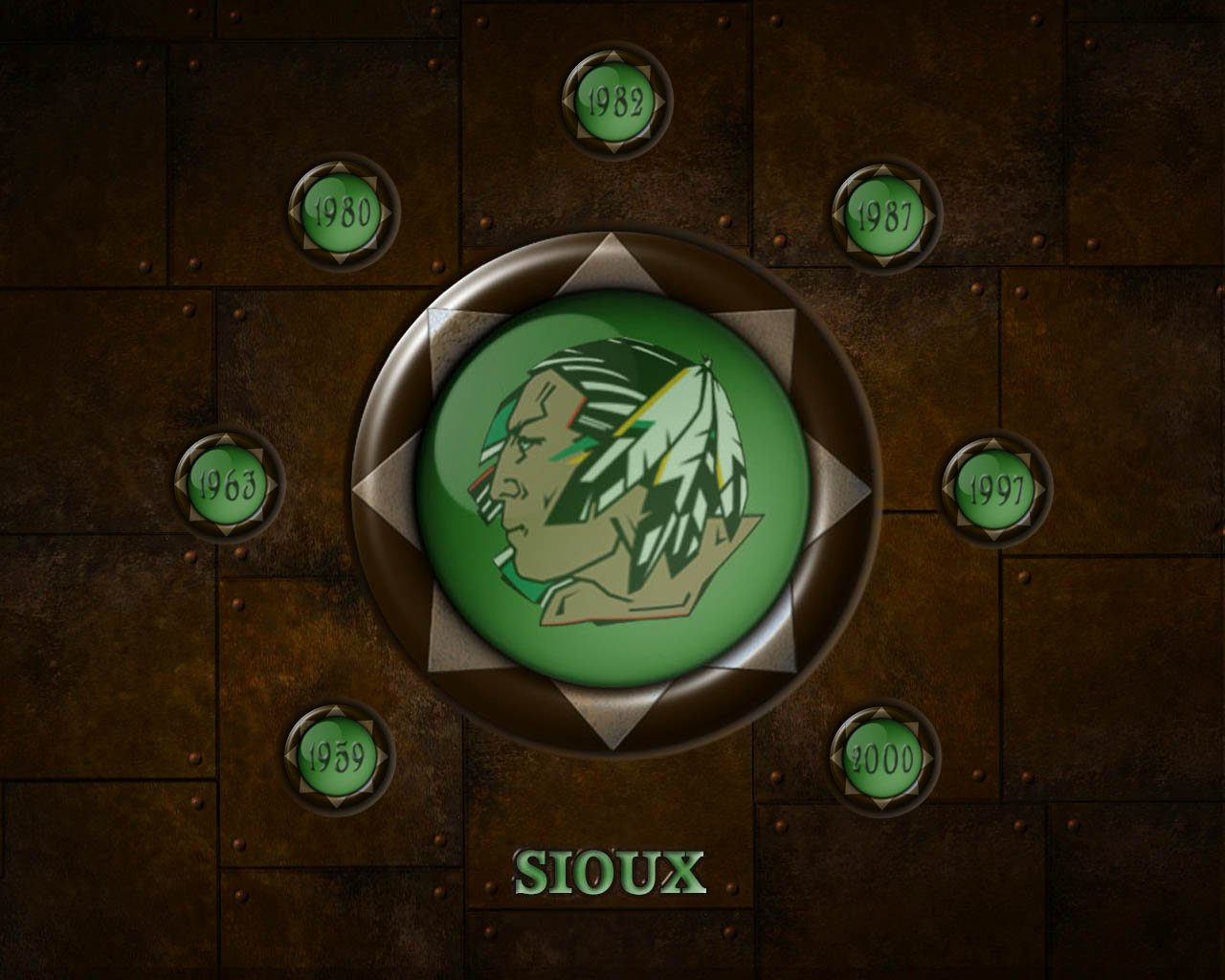 Fighting Sioux Wallpaper 1280x1024