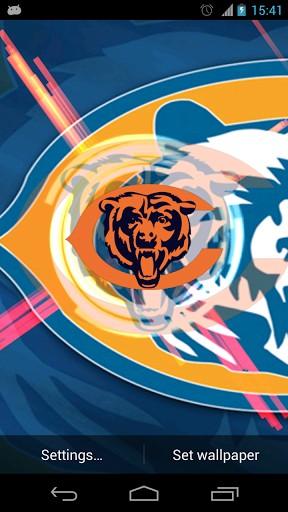 Chicago bears live wallpaper wallpapersafari - Chicago bears phone wallpaper ...