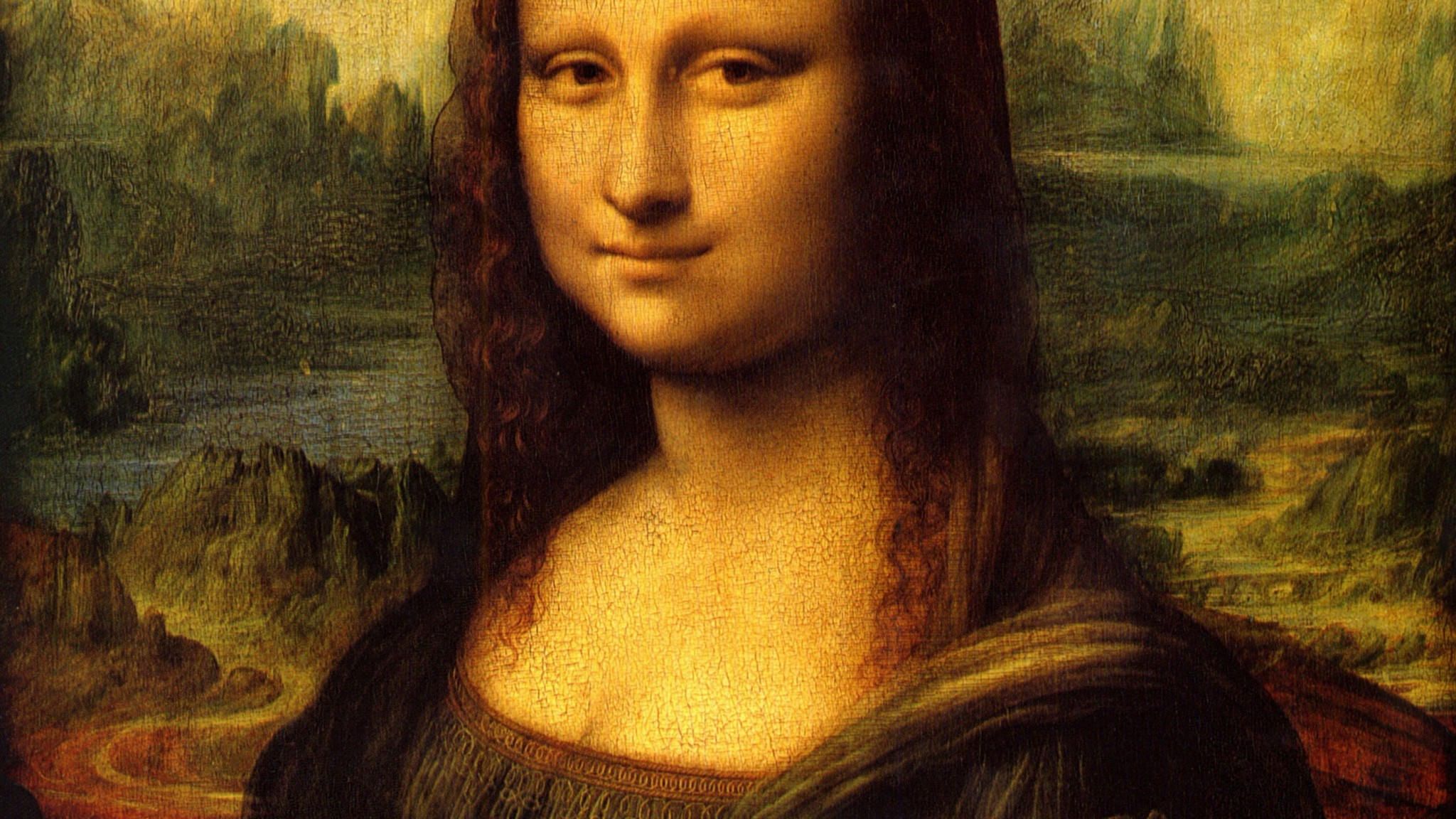 Fonds dcran Mona Lisa tous les wallpapers Mona Lisa 2048x1152