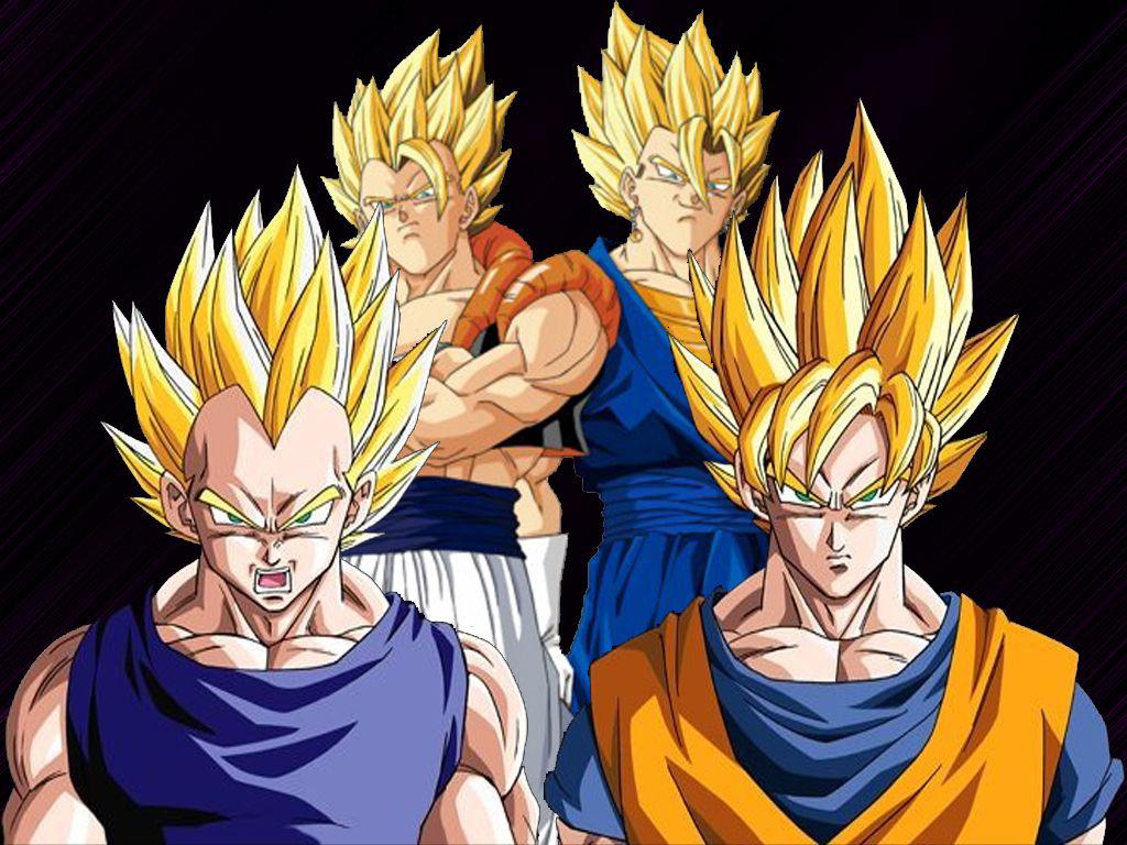 Wallpapers Son Goku Super Saiyan Goku Dragon Ball Wallpaper Son Goku 1024x768