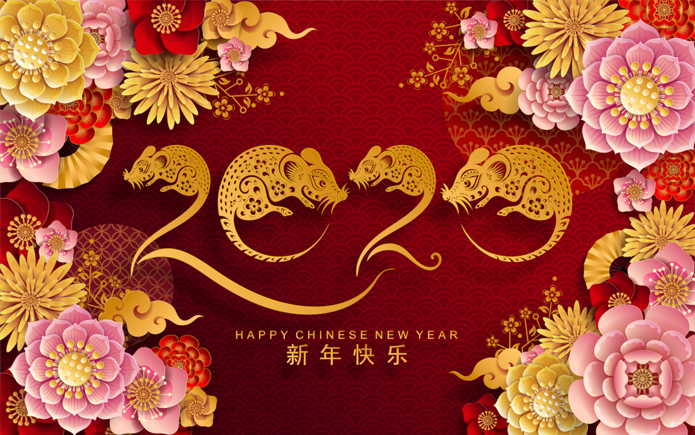 Happy Chinese New Year wallpapers 2020   SPC 1000x626