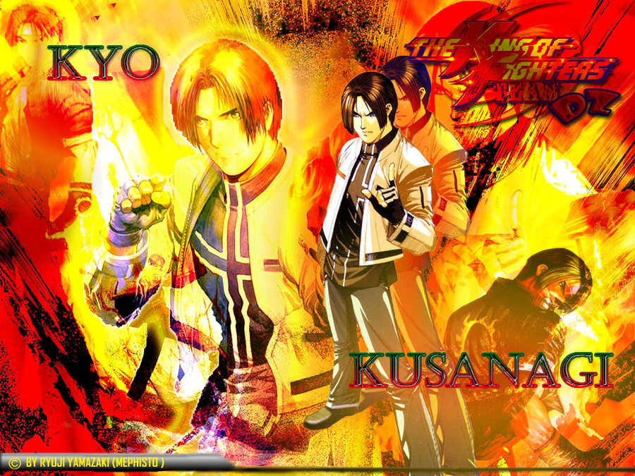 Kyo Wallpaper 01 KoF by Ryuji Yamazaki 900x675
