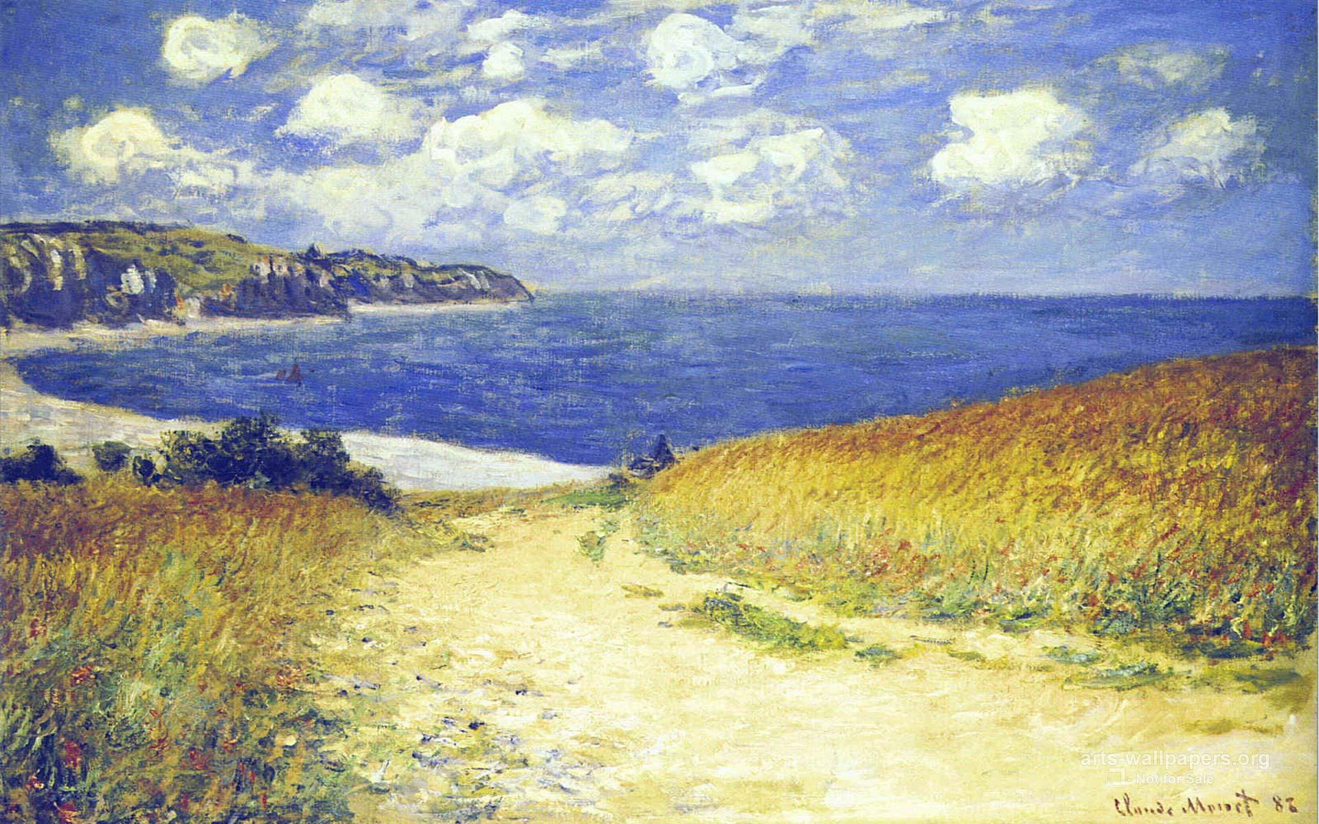 Claude Monet Wallpaper Paintings Desktop Art Backgrounds 1920x1200