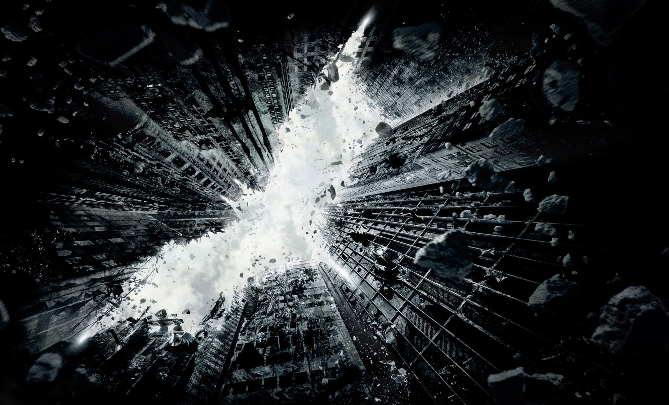 The Dark Knight Rises First Wallpaper Poster   Movie Wallpapers 2640x1600