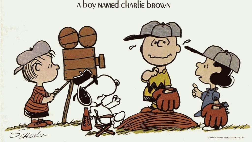 Charlie Brown Baseball Wallpaper Cartoons 1024x576